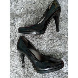 Nine West - patient leather - black heels
